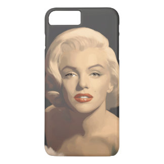 Graphic Gray Marilyn iPhone 8 Plus/7 Plus Case