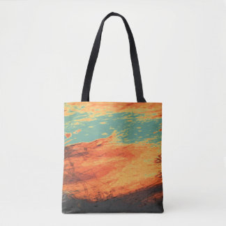 Graphic Holiday Tote Bag