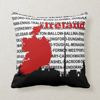 Graphic Ireland Pillow
