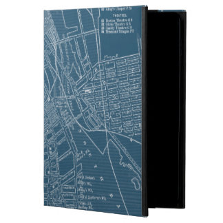 Graphic Map of Boston iPad Air Cases