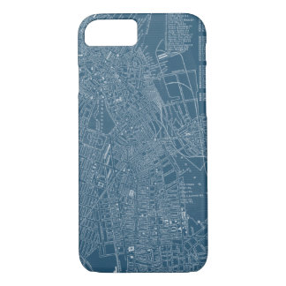 Graphic Map of Boston iPhone 8/7 Case