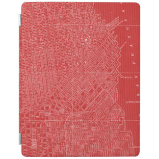 Graphic Map of San Francisco iPad Cover