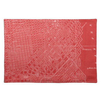 Graphic Map of San Francisco Placemat