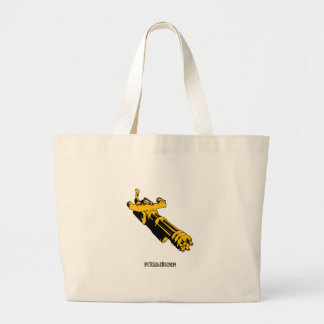 Graphic MiniGun Canvas Bags