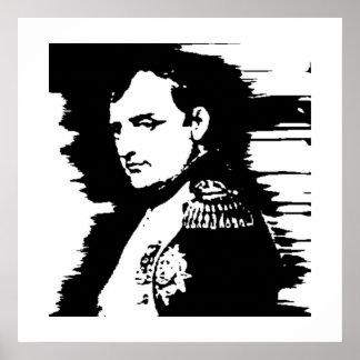 Graphic Napoleon Poster