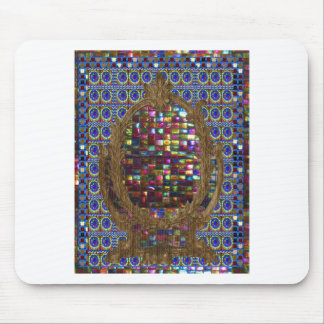 Graphic Painting  Crystal Stone TileS Egyptian NY Mouse Pad