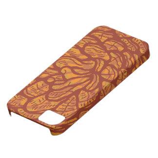 Graphic pinecone iPhone 5 case