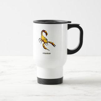 Graphic Scorpion 15 Oz Stainless Steel Travel Mug