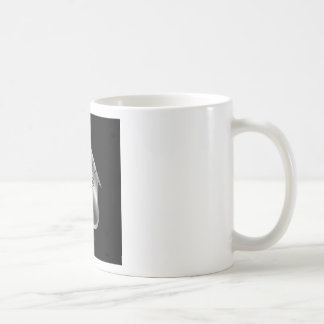 Graphic showing motivation basic white mug