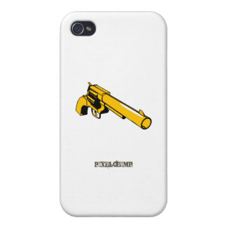 Graphic Six Shooter Covers For iPhone 4
