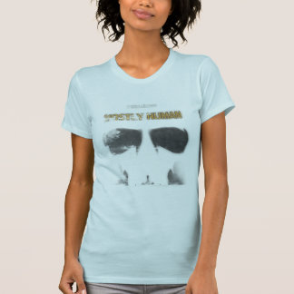 Graphic Stencil: Mostly Human Shirt