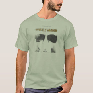 Graphic Stencil: Mostly Human T-Shirt
