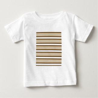 Graphic Stripe Design Infant Tee Shirt