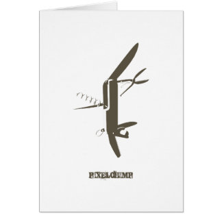Graphic Swiss Army Knife Cards