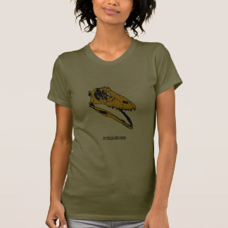 Graphic T-Rex Skull Tee Shirt