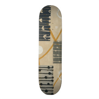 Graphic Tiles Skate Board Deck