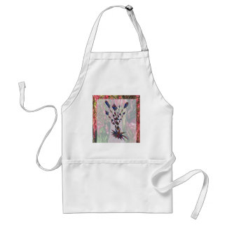GRAPHIC TREE Patchwork of Papercut Art photography Standard Apron