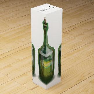 Graphic Wine Bottle Gift Box