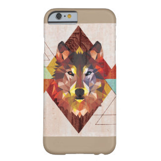 graphic wolf barely there iPhone 6 case