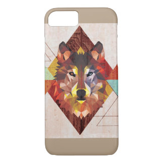 graphic wolf iPhone 7 case