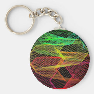 graphical game key chain
