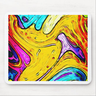 Graphite Art painting Street art  Creative Colors Mouse Pad