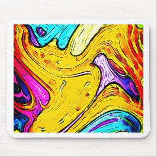 Graphite Art painting Street art  Creative Colors Mouse Pad