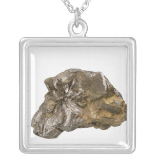 Graphite, Danville, Vermont, USA Silver Plated Necklace