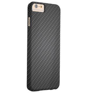 Graphite Fibre Texture Barely There iPhone 6 Plus Case