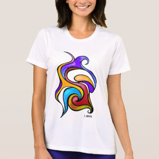 Graphite…! Microfibra t-shirt