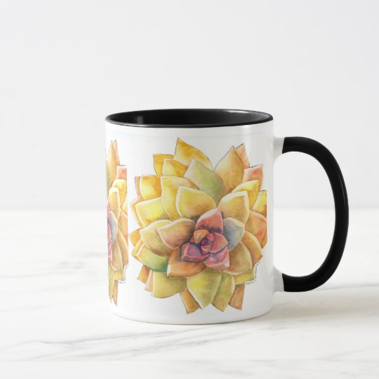 Graptopetalum Coffee Mug