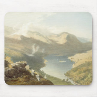 Grasmere from Langdale Fell, from 'The English Lak Mouse Mat