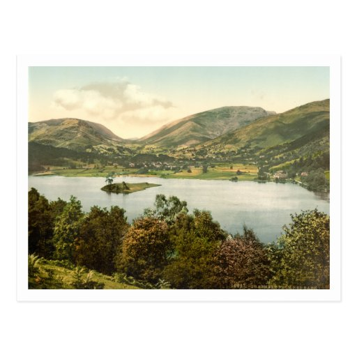 Grasmere III, Lake District, Cumbria, England Post Cards