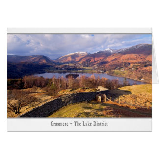 Grasmere, The Lake District Greeting Card