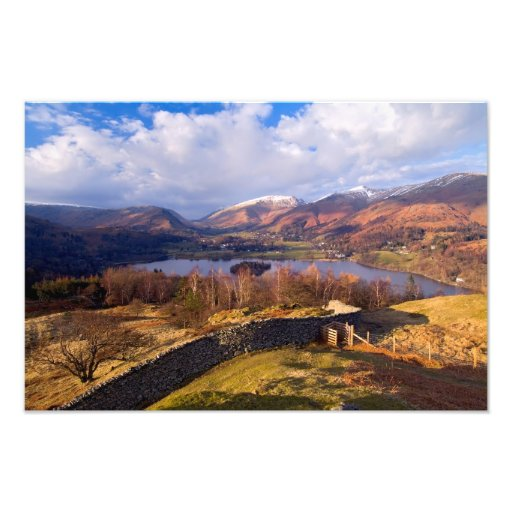 Grasmere, The Lake District in Autumn Photo Print