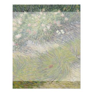 Grass and Butterflies by Vincent Van Gogh 11.5 Cm X 14 Cm Flyer