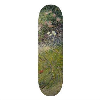 Grass and Butterflies by Vincent Van Gogh Skate Decks