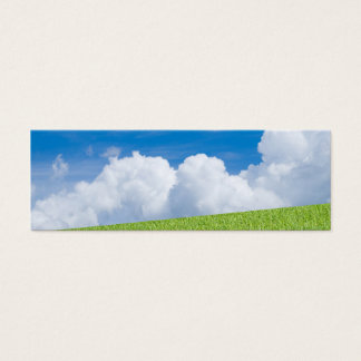 Grass and Sky Bookmark Mini Business Card