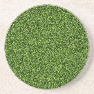 Grass Background Coaster