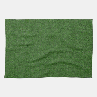 Grass background tea towel