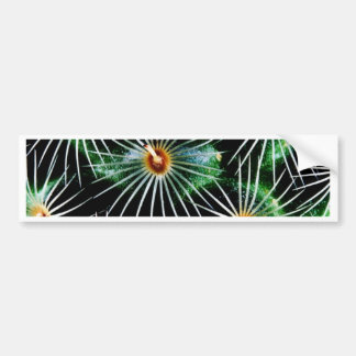 Grass Blades Nature Abstract Shapes Fashion style Bumper Sticker