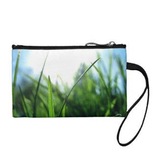Grass & blue sky coin purse