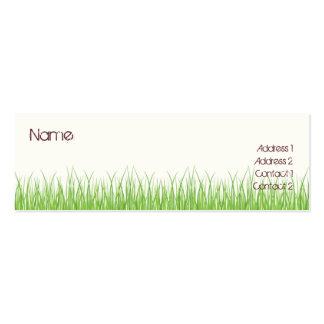 Grass Business Cards