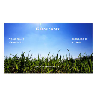 Grass Co. Double-Sided Standard Business Cards (Pack Of 100)