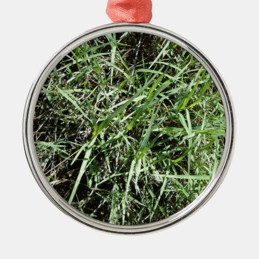 Grass Christmas Tree Ornaments