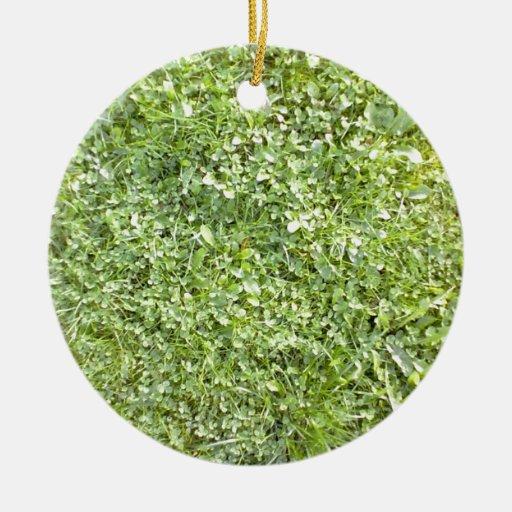 Grass Christmas Ornaments