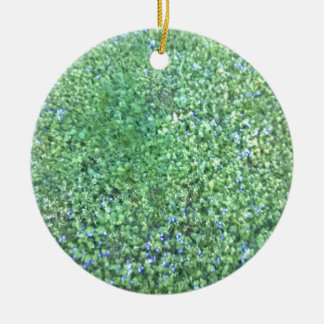 Grass Field Christmas Ornaments