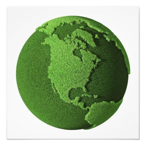 Grass Globe - North America Art Photo
