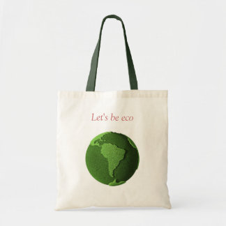 Grass Globe - South America Budget Tote Bag