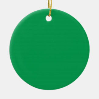 Grass Green Background on an Ornament